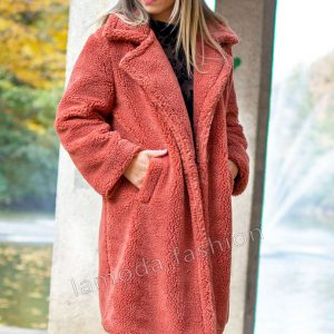 TEDDY COAT COPPER